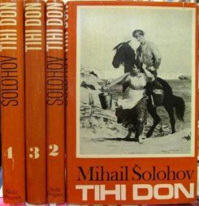 TIHI DON - MIHAIL ŠOLOHOV u 4 knjige