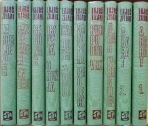 LAJOŠ ZILAHI - izabrana dela u 10 knjiga