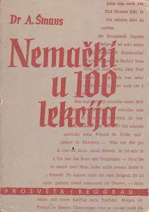 NEMAČKI U 100 LEKCIJA + KLJUČ - Dr A. ŠMAUS