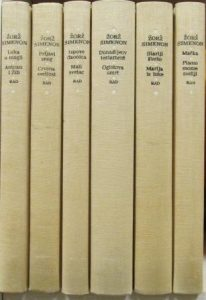 ŽORŽ SIMENON dela u 6 knjiga