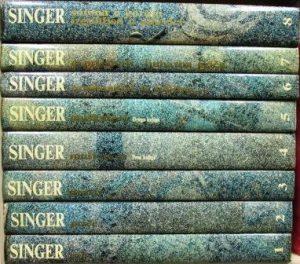 ISAK BAŠEVIS SINGER - izabrana dela u 8 knjiga
